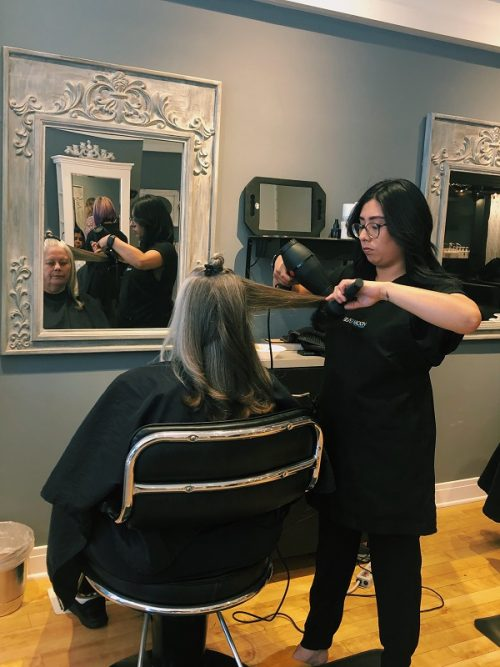Silvermoon Salon pays it forward and helps BEDS clients to look, feel their best