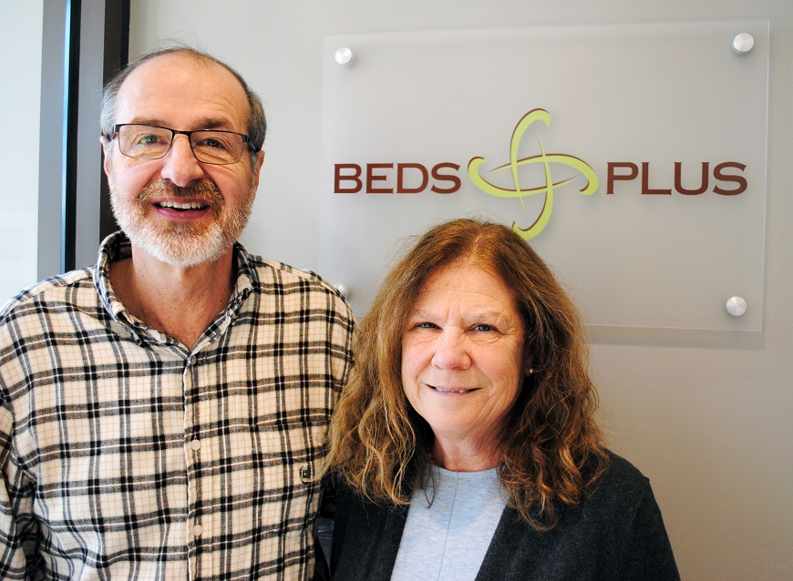 Volunteering with BEDS is a labor of love for Tess and Tony Bezouska