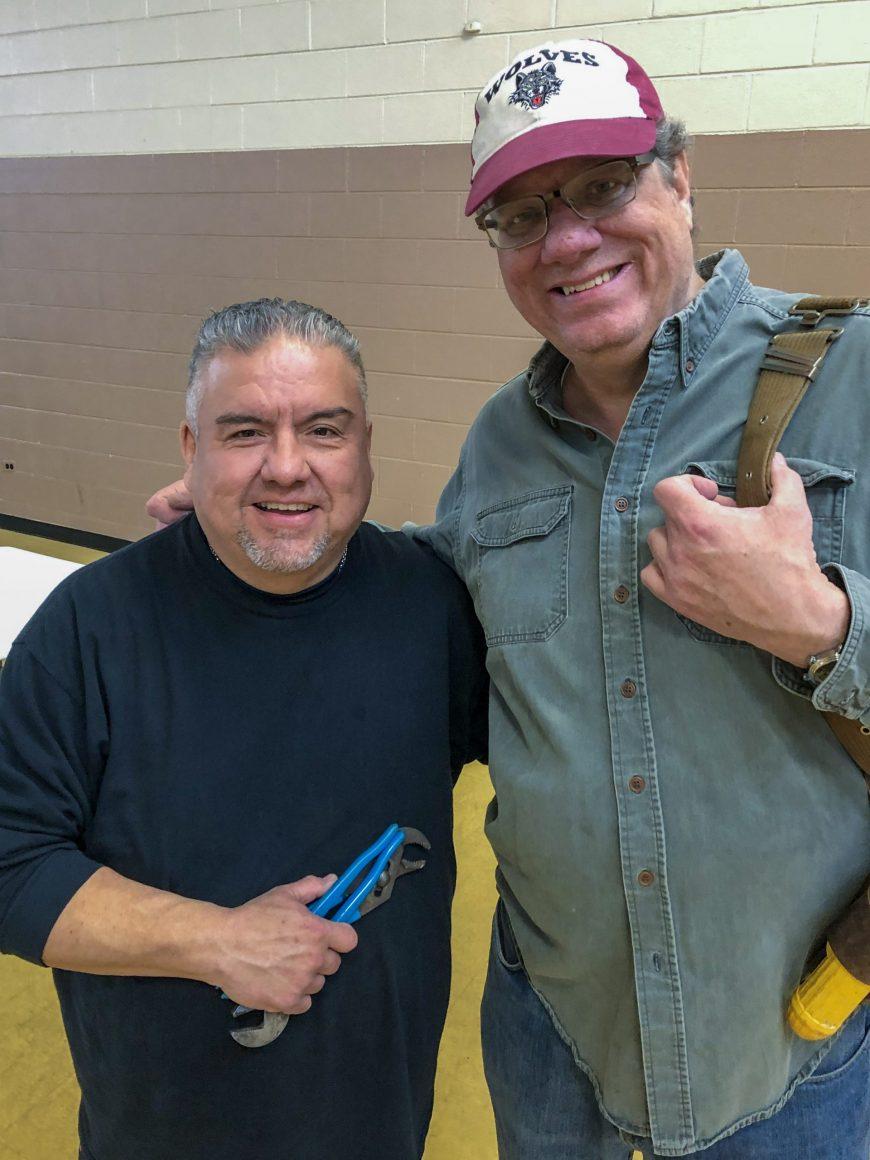 Volunteer Bill Burke helps on frontline of the BEDS COVID-19 response