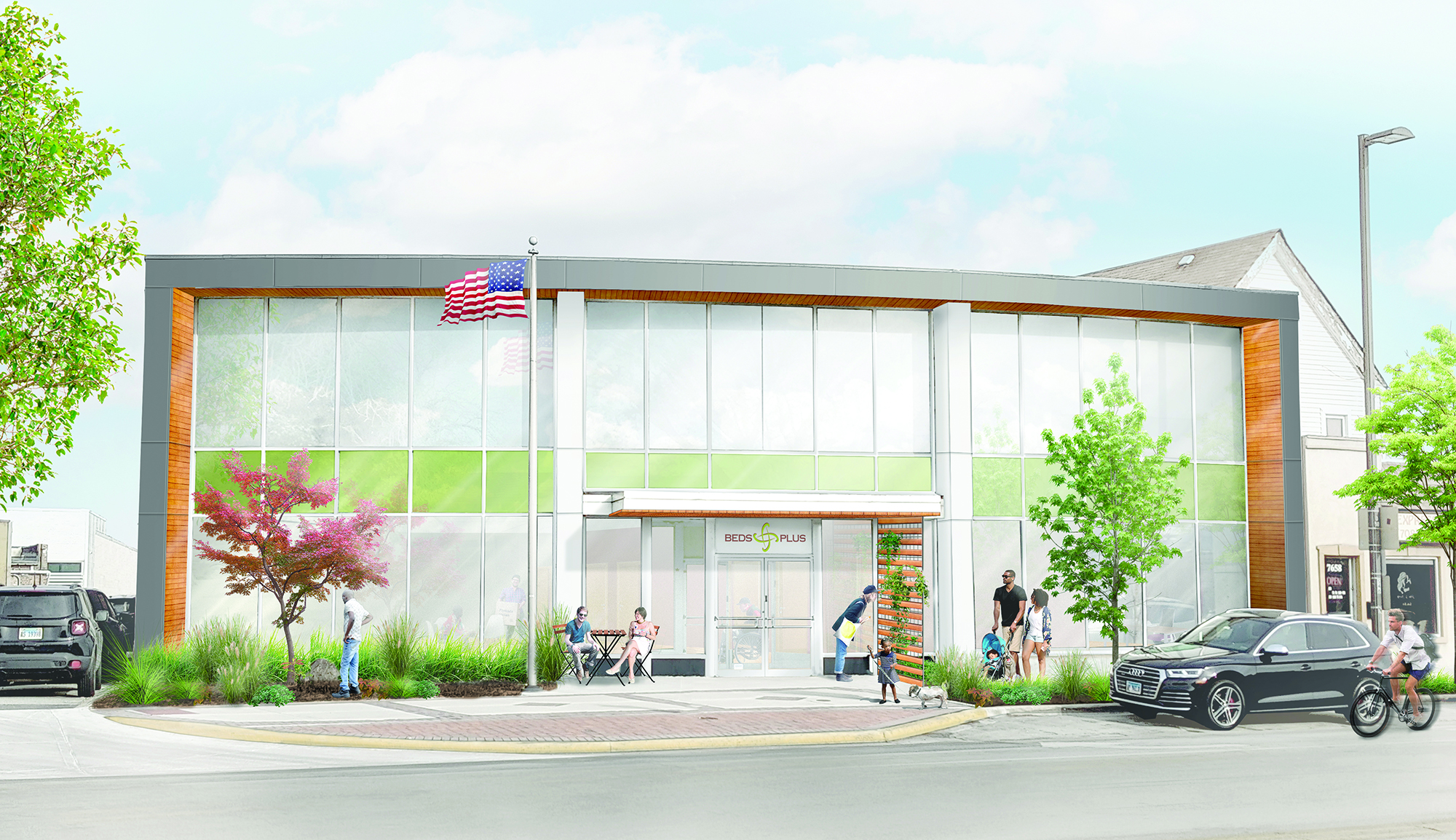 Summit Service Center plans featured in Chicago Tribune article