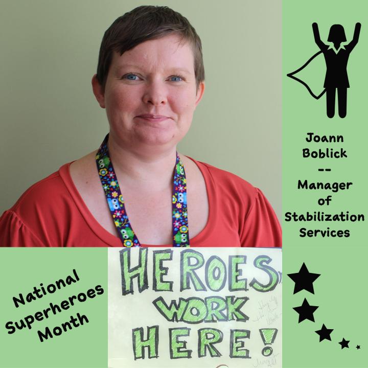 Meet BEDS Superhero, Joann Boblick