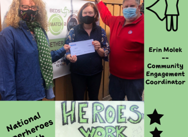 Meet BEDS Superhero, Erin Molek